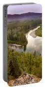 Yukon Canada Taiga Wilderness And Mcquesten River Portable Battery Charger
