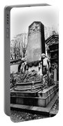 Pere-lachais Cemetery In Paris France Portable Battery Charger