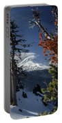 Mt Hood From Lookout Mtn Portable Battery Charger