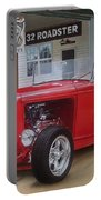 32 Ford At Filling Station Portable Battery Charger