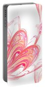 Seamless Background Fractal Portable Battery Charger
