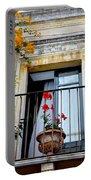 Views Of Taormina Sicily Portable Battery Charger
