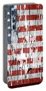 American Flag 49 Portable Battery Charger