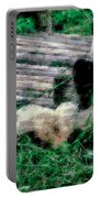 3722-panda -  Pastel Chalk 1 Portable Battery Charger
