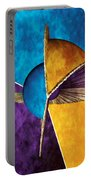 3d Abstract 23 Portable Battery Charger