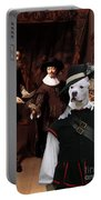 American Staffordshire Terrier Art Canvas Print Portable Battery Charger