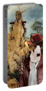 Bull Terrier Art Canvas Print Portable Battery Charger
