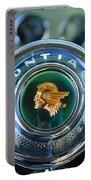1933 Pontiac Steering Wheel Emblem Portable Battery Charger