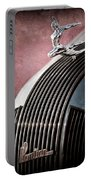 1935 Pontiac Sedan Hood Ornament Portable Battery Charger