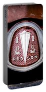 1953 Hudson Hornet Emblem Portable Battery Charger