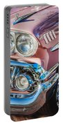 1958 Chevrolet Bel Air Impala Painted  Portable Battery Charger