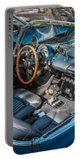 1959 Chevy Corvette Convertible Painted  Portable Battery Charger