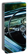 1965 Shelby Prototype Ford Mustang Steering Wheel Emblem Portable Battery Charger