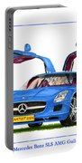 2010 Mercedes Benz S L S Gull-wing Portable Battery Charger