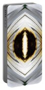 African Moon Abstract Portable Battery Charger