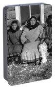Alaska Eskimo Family Portable Battery Charger