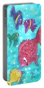 Art Fish Portable Battery Charger