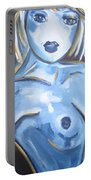 Art Nude Portable Battery Charger