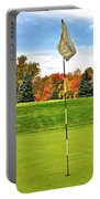 Autumn Golf Portable Battery Charger