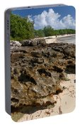 Beach At Coco Cay Portable Battery Charger