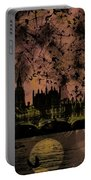 Big Ben On The River Thames Portable Battery Charger