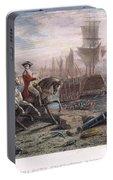 Boston: Evacuation, 1776 Portable Battery Charger