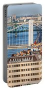 Budapest Cityscape Portable Battery Charger