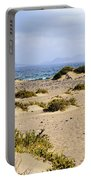 Caleta De Famara Beach On Lanzarote Portable Battery Charger