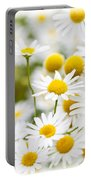 Chamomile Flowers Portable Battery Charger