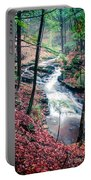 Chesterfield Gorge New Hampshire Portable Battery Charger by Edward Fielding