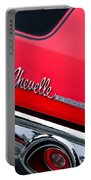 Chevrolet Chevelle Ss Taillight Emblem Portable Battery Charger