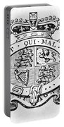 Coat Of Arms Great Britain Portable Battery Charger