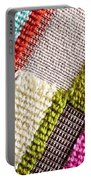 Colorful Cloth Portable Battery Charger by Tom Gowanlock