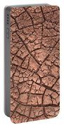 Cracked Dry Clay Portable Battery Charger