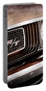 Dodge Challenger Rt Grille Emblem Portable Battery Charger by Jill Reger