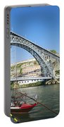 Dom Luis Bridge Porto Portugal Portable Battery Charger