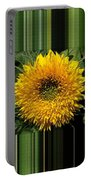 Dwarf Sunflower Named Teddy Bear Portable Battery Charger