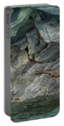 Eroded Marble Shoreline Portable Battery Charger