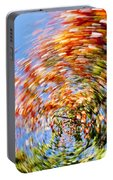 Fall Abstract Portable Battery Charger