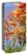 Fall Abstract Portable Battery Charger by Steven Ralser