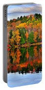 Fall Forest Reflections Portable Battery Charger