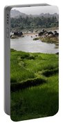 Hampi Landscape Portable Battery Charger