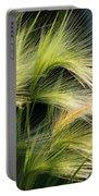 Hordeum Jubatum Grass Portable Battery Charger