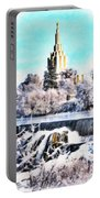 Idaho Falls Temple Portable Battery Charger