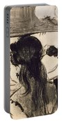 Illustration From La Maison Tellier By Guy De Maupassant Portable Battery Charger