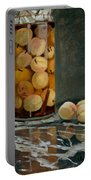 Jar Of Peaches Portable Battery Charger
