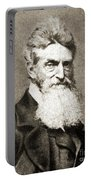 John Brown, American Abolitionist Portable Battery Charger by Photo Researchers