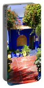 Majorelle Garden Marrakesh Morocco Portable Battery Charger