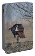 Male Eastern Wild Turkey Portable Battery Charger