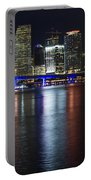 Miami Downtown Skyline Portable Battery Charger